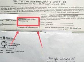 A Bolzano si chiede razza o etnia