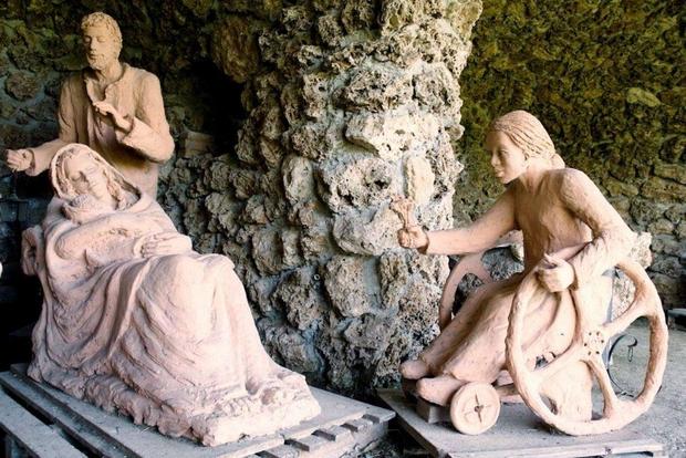Presepe-in-carrozzina Il presepe più bello d'Italia è sociale