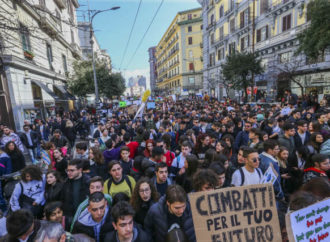Napoli, in 50mila al Fridays For Future