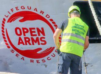 La visita a bordo della Open Arms