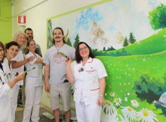 Un murales aiuta i bambini in ospedale