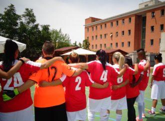 Calcio femminile al carcere di Rebibbia