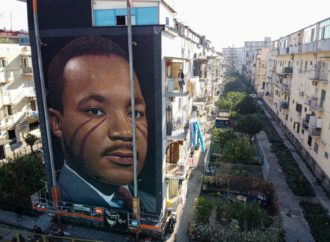 Martin Luther King arriva a Barra