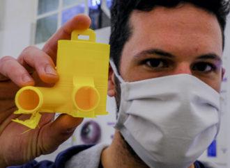 Respiratori in 3D, l'invenzione bresciana