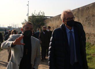 Il prefetto Valentini in visita alla Masseria