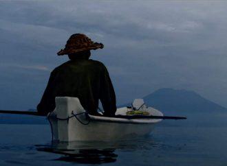 Wayan Nyo, pescatore di plastica